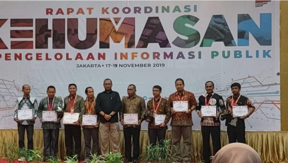 Penganugerahan Pelayanan Informasi Publik